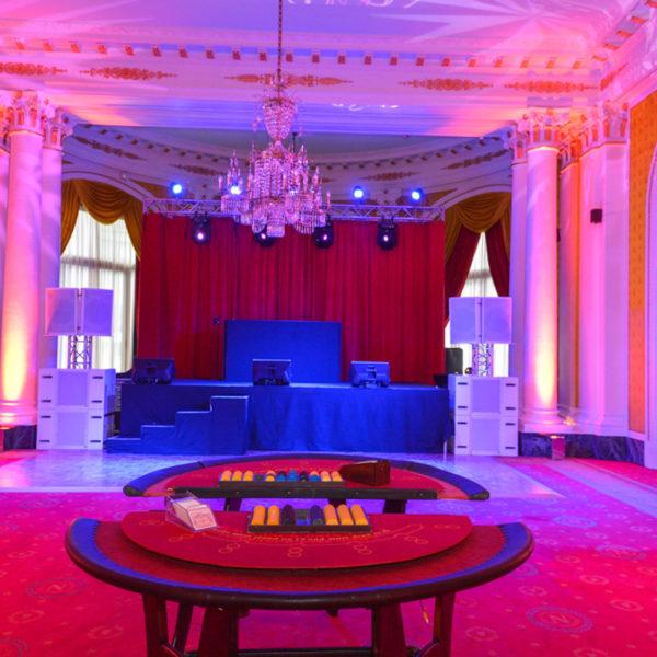 Casino Royal theme party poker night