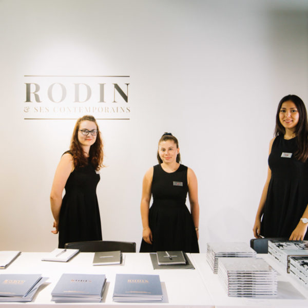 Rodin gallery of the Private viewing in Miramas