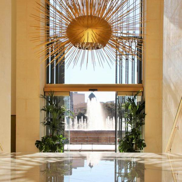 Lobby Paseo de Gracia luxury hotel Barcelona