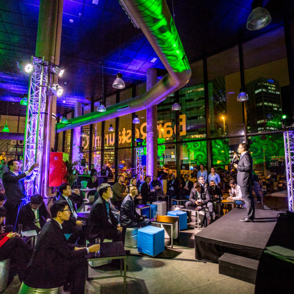 Networking event during MWC in Barcelona