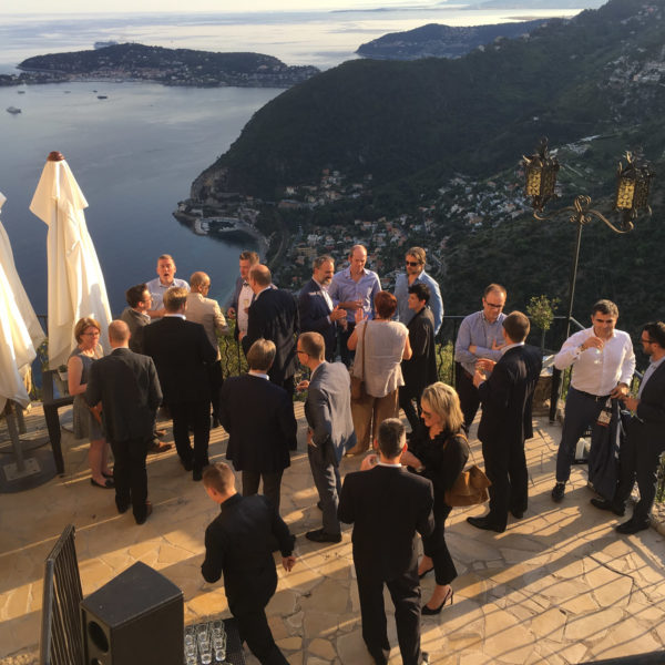 Mingling at VIP venue in Eze Village during DTW