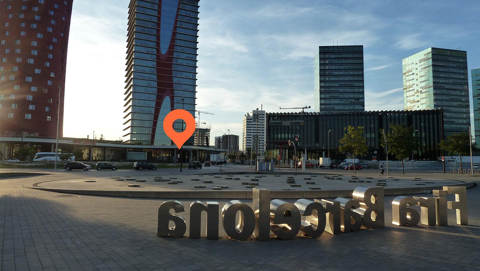 Modular venue location across MWC